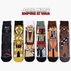6 Pairs Star Wars Cotton Socks Mens Winter Warm Leisure Athletic Collection $13.99 USD