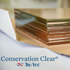 """1 Piece 8"""" x 10"""" Tru Vue Conservation Clear Picture Frame Glass"""