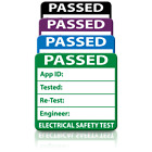 Plug Top 3rd Edition Passed PAT Test Labels - Ultra Strong Adhesive & Rip Proof
