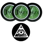 Jake's Mint Chew - Spearmint 3ct - with DC Skin Can Cover - No Tobacco/Nicotine