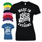 50th Birthday Gift T-Shirt Made in 1968 Vintage Star Age 50 Years Mens Ladies
