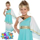 Child Goddess Venus Fancy Dress Costume Teen Greek Roman Toga Kids Outfit