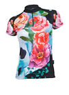 MIMO DESIGN WATERCOLOR SKULL Woman's Cycling Jersey Short Sleeve