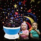 Kids Children LED Rotating Project Starry Night Lamp Star Sky Projection Light