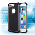 Hybrid Rugged Rubber Armor Shockproof Hard Cover Case For Apple iPhone 5 5s SE