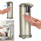 2 Pack Automatic Soap Dispenser Auto Soap Sensor Touchless Stainless Steel