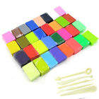 32 /36 Colours +5 Tools Set Soft Polymer Clay Oven Fimo Clay Modelling Moulding