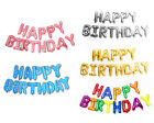 Kyпить 13pc HAPPY BIRTHDAY Balloon Banner Foil Rainbow Letters  Party Decoration 16