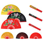 Chinese Kung Fu Martial Arts Dance/Practice Performance Tai Chi Fan Bamboo w/Bag
