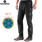 RockBros Men's Thermal Fleece Winter Pants Cycling Sports Reflective Trousers