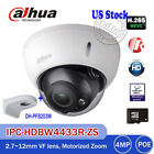 Dahua IPC-HDBW4431R-ZS 4MP Motorize Dome IP Camera Bracket Wall Mount DH-PFB203W