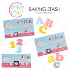 Cake Star Easy Push Cutters Upper & Lower Case Alphabet & Number - Large & Mini