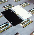5 Pack of Plastic License Plate Blanks.050 **Create your own Designs!!!**