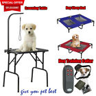 Profession Heavy Duty Portable Pet Dog Grooming Table Sleeping Bed 4 IN 1 Collor