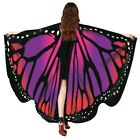 USA Butterfly Wings Fairy Costume Adult Outdoor Nymph Shawl Scarf Fancy Dress