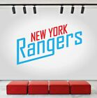 New York Rangers Logo Wall Decal Ice Hockey Sports Vinyl Sticker NHL CG223 $25.95 USD on eBay
