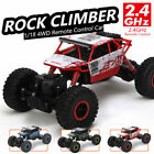 HUGE 1/18 Monster Truck 4WD Rock Crawler Remote Control 2.4G RC RTR   Climb Car