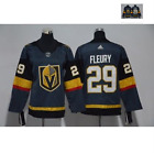 Vegas Golden Knights 29 Marc Andre Fleury Gray Jersey SIZE M 3XL