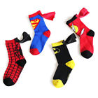 Внешний вид - Boys Sport Socks Cotton Kids Socks Spider Man Batman Football Basketball Socks