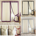 Claremont Tab Top Lined Curtains with 10 Different Trims - NOW 50% OFF