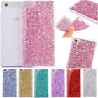 For Huawei Ascend P10 P9 P8 Lite Soft Case Cover Luxury Bling Glitter Shockproof