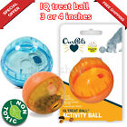 tricky treat - Tricky Treat Ball Dispenser Interactive IQ Dog Food Toy Puppy Plastic Puzzle 3-4