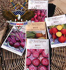 Beet Seeds - Organic Preserved Heirlooms - Non Gmo Open Pollinated - 100 SEEDS