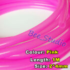1M 2mm*4mm Colorful Food Grade Silicone Soft Rubber Tube Beer Water Hose Pipe
