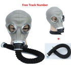 Внешний вид - 2in1 Paint Spraying Military soviet gas mask Full Face Facepiece Respirator 40mm