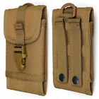 2018 Tactical Military Molle Cell Phone Pouch Case Belt Bag For Smartphone 5.5""