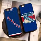 New York Rangers Ice Hockey NHL Team Silicone Case Cover for iPhone 6 7 8 X Plus $8.58 USD on eBay