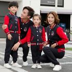 Family Matching Outfits Autumn Winter Family Sport Suits Spring Lovers Clothes