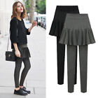 Elegant Pleated Skirt High Elasticity Polyester Long Wash Without Deformation