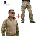 EMERSON G3 Combat Uniform Set Shirt & Pants Military Airsoft MultiCam ClothingTactical Clothing - 177896