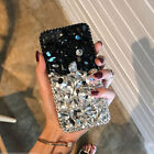 Luxury Rhinestone Bling Girl Red Diamond Jeweled Crystal Back Phone Case Cover