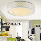 Modern Simple LED Dimmable Acrylic Ceiling Light White Round Flush Mount Light