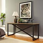 Modway Traverse Wood Console Stand