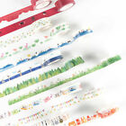 Color DIY Adhesive Washi Paper Tape Self Sticker Scrapbooking Album Diary Decor