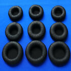 Replacement Ear Pads Cover Leather For Headphone Size 45mm 55mm 60mm 70mm 80mm