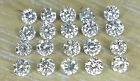 20pc Natural Loose Brilliant Cut Diamond Round 0.8-3.0mm I1 Clarity J Color Sett