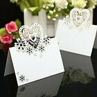 50pcs Party Table Number Events Wedding Decor Love Heart Shape Precise Cut Card