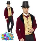 Old Edwardian Gent Costume Adult Mens Victorian Book Week Day Fancy Dress Outfit