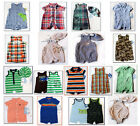 NWT Boys Baby Romper Sunsuit Carters Chaps Summer Outfit Hat Set NEW 3m 6m 9m