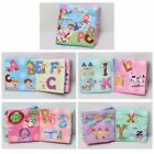Ocean Shower Cognitive Baby Cloth Book Lovely Toy Boy Girl Kids Fabric Toys