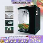 Indoor Grow Tent Hydroponic 100% Reflective Mylar Non Toxic Room Box Multi-size