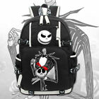 The Nightmare Before Christmas Backpack Knapsack Packsack Travel Student Bag Hot