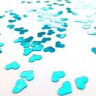 """CHEAPEST on EBAY"" Tiffany Turquoise Mini Heart Wedding Table Sparkle Confetti"