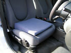 """Wizard Car Seat Cushion  Leveller 4"""" in Black for Comfort & Relief of Back Pain"""