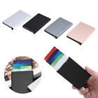 Name Credit Card ID Holder Outdoor Travel Wallet Purse Stainless Steel Box Case