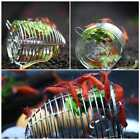 Aquarium Stainless Steel Shrimp Small Bait Feeder Dry Spinach Feeding Cage S/M/L